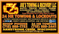 Joe's Towing & Recovery LLC