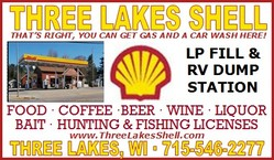Three Lakes Shell